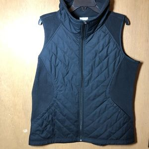 Columbia Quilted Fleece Vest